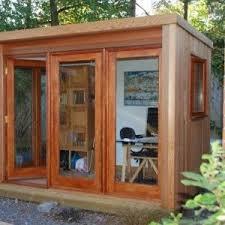 prefab garden office. Amazing Prefab Garden Office Architecture Design With Tilt Glass Door And Stands Free Desk A