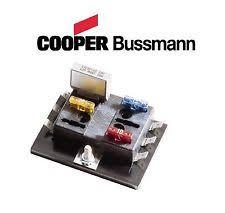 fuse block 6 in atv parts bussman atc 6 position fuse block holder custom offroad 4wheeler atv precision