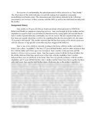 Writing an observation essay