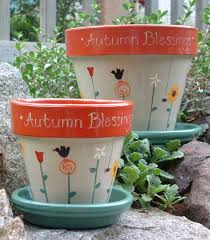 painted flower pot ideas annabelle s angels hand painted pottery for home garden