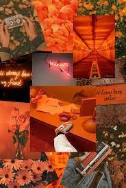 Orange Peach Aesthetic Wallpapers - Top ...