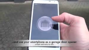 samsung note 3 garage mate bluetooth garage door opener