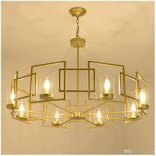 Großhandel Moderne Led Doppelspirale Gold Kronleuchter Beleuchtung