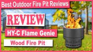 Hy C Fg 16 Flame Genie Portable Smoke Free Wood Pellet Fire Pit Review Outdoor Fire Pit Reviews Youtube