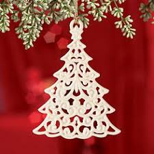 LENOX Ornaments: Santas & Trees - Snow Fantasies Tree Ornament. Christmas  ...