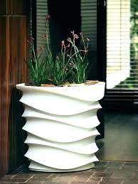 ceramic garden pots outdoor planters glazed large planter wide planting shallow