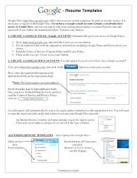 Google Docs Resume Template Free Interesting Google Resume Templates Free Simple Resume Template Free Download Or