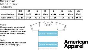 American Apparel Measurement Chart Tero Crossfit T Shirt Limited Edition Unbroken Design By