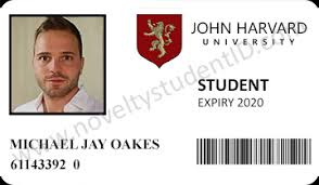 John Harvard University - Noveltystudentid