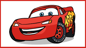 lightning mcqueen drawing. Interesting Drawing How To Draw Lightning McQueen Cars Disney Pixar With Mcqueen Drawing W