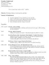 baker cv resume sample food ideal sample baker resume free career resume