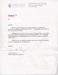 100 Employment Rejection Letter Template Sample Rejection