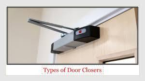 Decorating door types pics : Types of Door Closers. A door closer is a device that is fixed ...