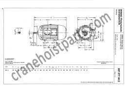 demag slip ring rotor brake motor 19 11s4