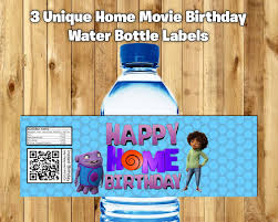 dreamworks home movie party ideas. birthday party ideas · 3 home water bottle labels movie wrappers download print dreamworks decoration