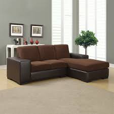 monarch specialties i 8200 corduroy leather look sofa lounger