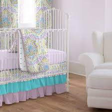 image of purple turquoise crib bedding brimlee purple true turquoise custom baby bedding set the