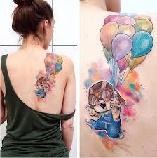 Hravá Disney Tetování Inspirovaná Oblíbenými Dětskými Filmy