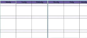 Blank One Week Calendar Week Calendar Template Blank View Larger One Work 2018 Pocketapps