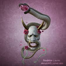 ArtStation - Snake and A Mask, Lauren Pendleton