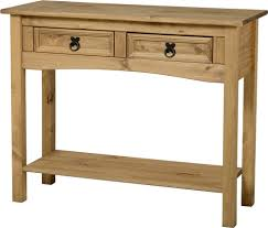 small hall table with drawers. Small Console Table With Drawers Corona Two Drawer Consoles Hall Tables Shelf Mexican Pine Solid Wooden C