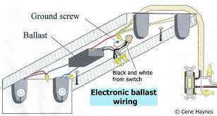 how to wire electronic ballast new ballast wiring