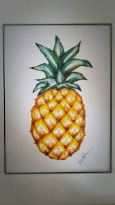 Drawingcolor Best 20 Pineapple Drawing Ideas On Pinterest Pineapple Art