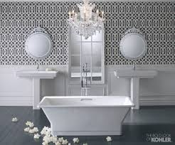 Kohler Bathroom Mirror Bathroom Double Kohler Sinks And Double Mirror On Wall Plus White