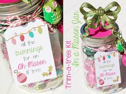 Decorating Mason Jars For Gifts Tree Trimming Kit Using A Mason Jar DIY Christmas Gift Craft Tutorial 89