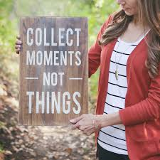 Small Picture Collect Moments Not Things Home Decor Giveaway