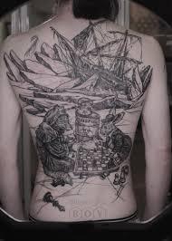 как французский моряк заказывал тату на всю спину у питерского