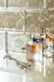 antique mirror glass subway tile tiles