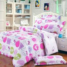 hello kitty bed furniture. Nice Hello Kitty Bed Linen With White Furniture Style For Modern Bedroom Design Ideas Girls