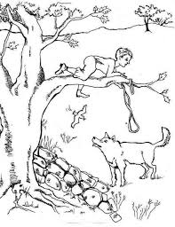 Peter And The Wolf Coloring Pages And - glum.me
