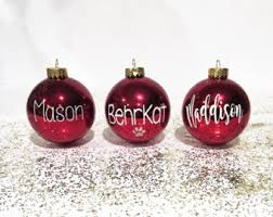 Personalized, Personalized Ornament, Ornaments, Christmas Tree Ornament, Christmas  Ornament, Personalized Christmas