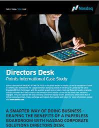 directors desk client stus