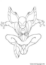 Small Picture Ultimate Spiderman Iron Spider Coloring Pages Printable
