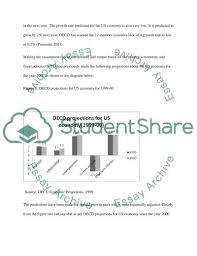 us economy oecd predictions about us economy essay related essays us economy