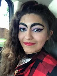 bebop 80s punk makeup hair by moonlight 1