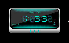 Futuristic Clock Digital Alarm Clock Android Apps On Google Play