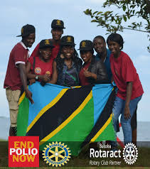 rotaract bukoba of bukoba prepared the polio essay competition so on this day the winners were announced and the awards were given where the first place winner recived