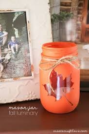 Diy Decorative Mason Jars Fall Mason Jar Craft Sugar Bee Crafts 64