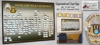 South Gate Pd Presentations From Badge Frame