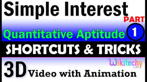 Simple Interest 1 Aptitude Interview Questions Papers And Answers
