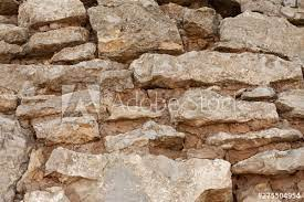 background texture stacked stone wall