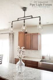 industrial pipe lighting.  Pipe DIY Industrial Pipe Light Fixture  A Beautiful Pendant Light Sponsored And Lighting S