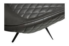 Esszimmerstuhl Kunstleder Esszimmer Küche Stuhl Sessel Polsterstuhl Grau