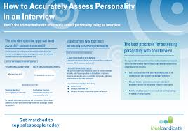 how to assess a s rep s personality in an interview how to assess a s rep s personality in an interview
