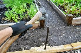 how to build a timber garden border vegetable garden tips from sewwoodsy com