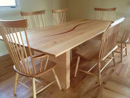 solid maple bback chairs lansing benches